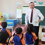 幼稚園の教育